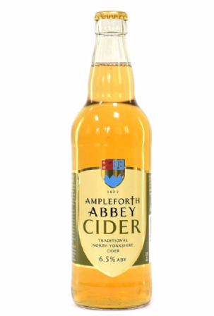 1 x case of Sparkling Ampleforth Abbey Cider